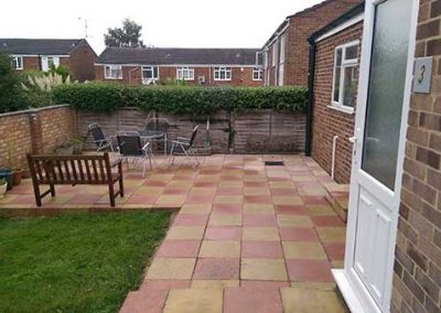 "Patio in Caversham ""after"""