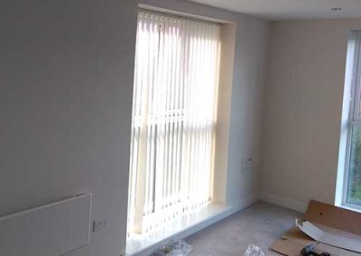 Vertical Blinds Installation