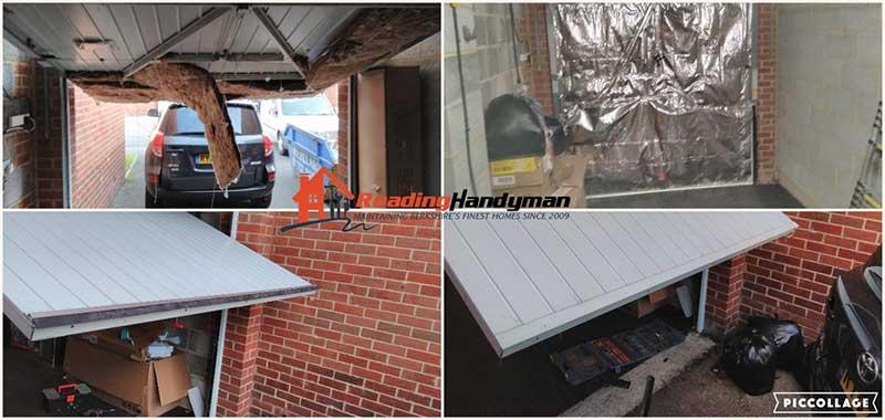 Insulating Garage Doors And Installing, How To Insulate Garage Door Uk