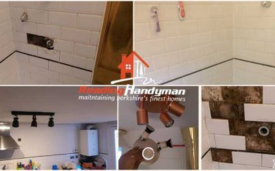 Bathroom tiling and painting works in Reading
