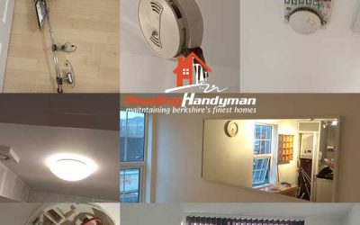 Lots of little handyman jobs in this rental in central Reading