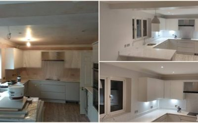 Kitchen Painting in Finchampstead