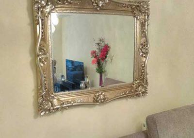 Heavy mirror hanging in Wokingham