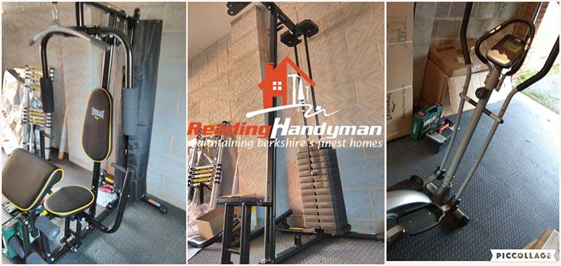 Home gym equipment assembly in shinfield reading garage gym