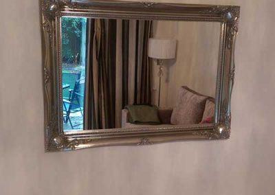 Stylish mirror hanging in Caversham