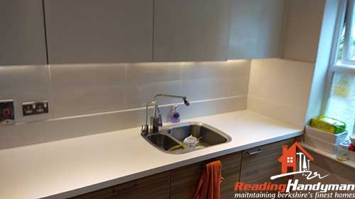 Kitchen splashback tile in Kennet Island