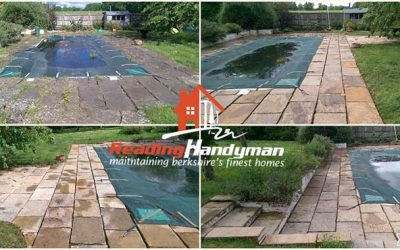 Patio Cleaning in Twyford