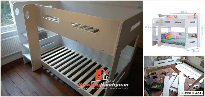 Bunk Bed Assembly In Goring Amp Streatley Flatpack