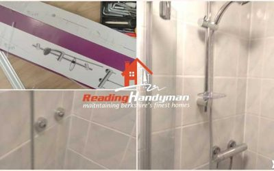 Thermostatic shower installation in Central Reading
