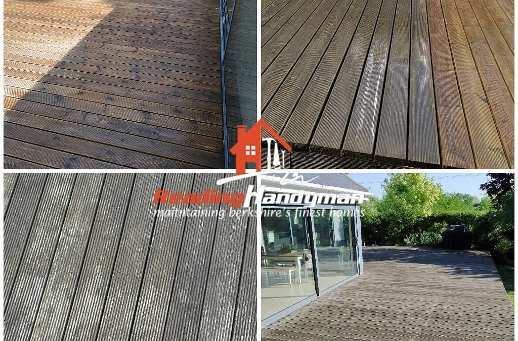 Decking Cleaning in Charvil
