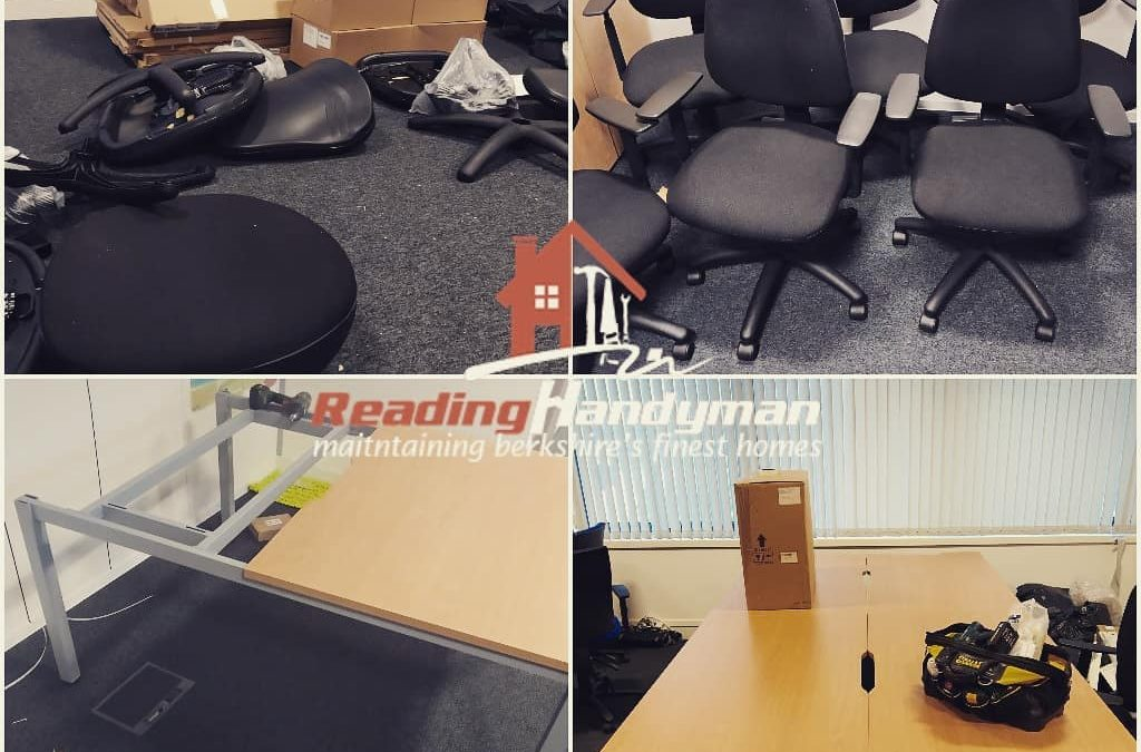 Office furniture assembly in Central Reading