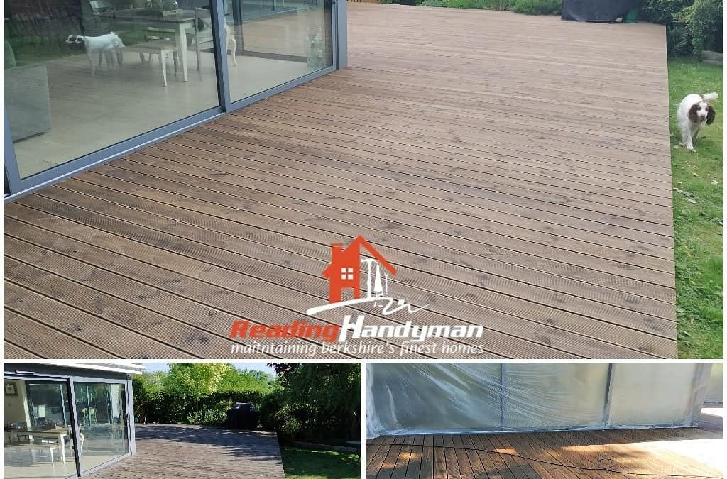 A beautiful deck in Charvil restored to as new condition