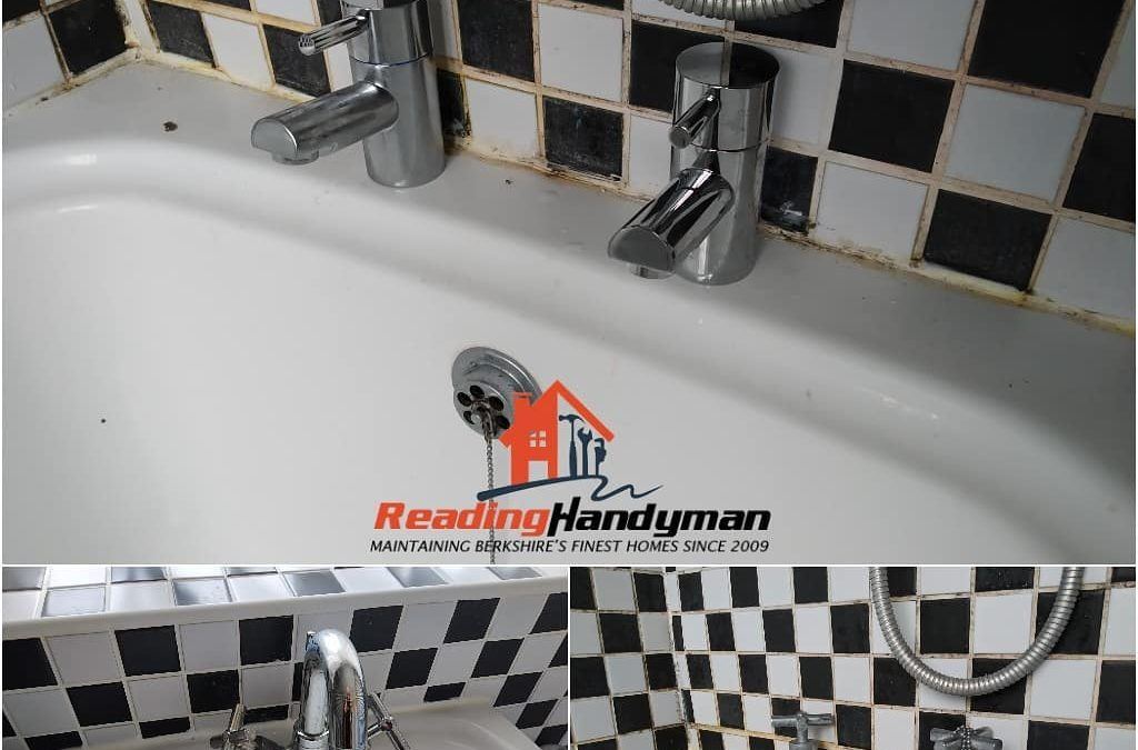 Bath & Basin taps replaced in Reading