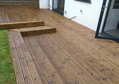 """Decking cleaned and oiled """"after"""""""