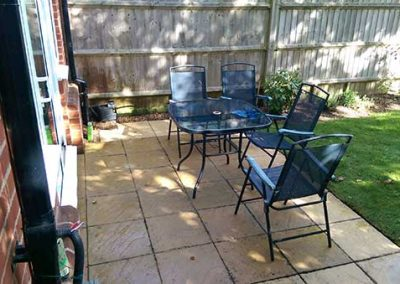 """Patio washing in Emmer Green """"after"""""""