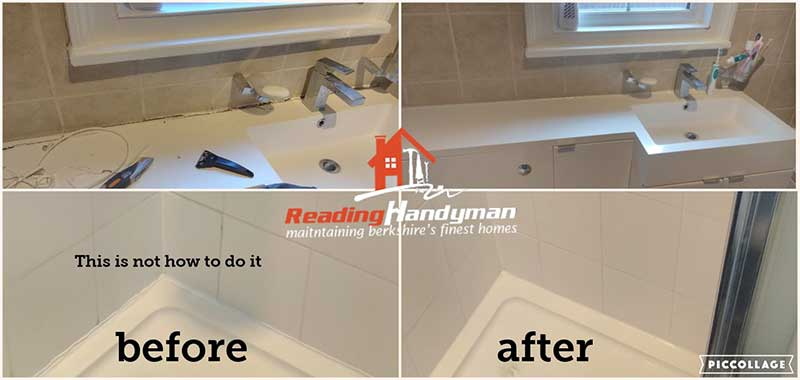 Bathroom resealing in Reading   Shower and bath re-sealing ...