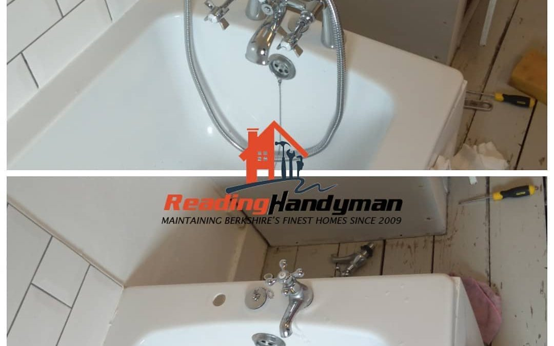 Bath taps replaced in Reading