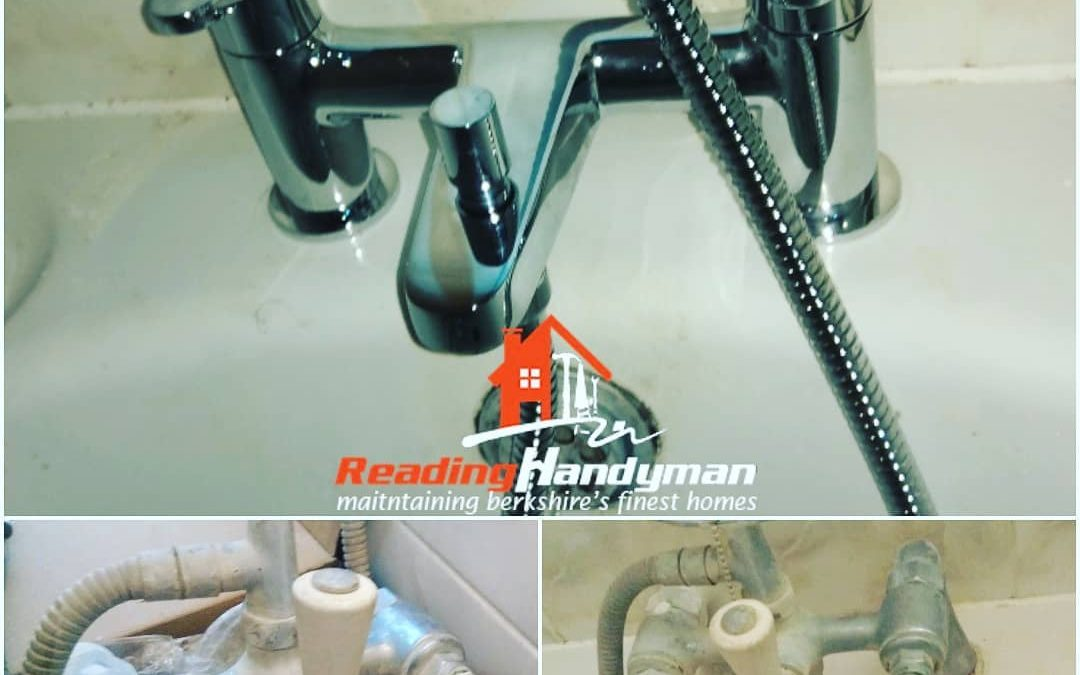New Bristan bath tap fitted in Reading