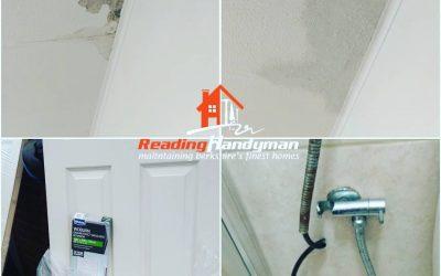 Door hanging and ceiling repair in Lower Early