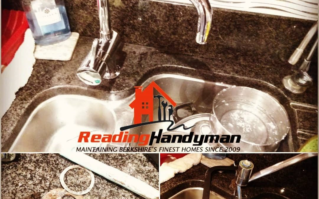 Kitchen tap replaced in Kennet Island