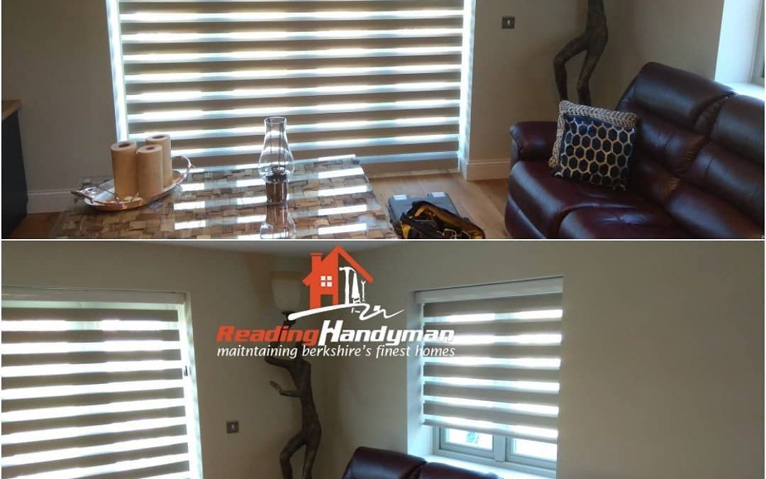 Absolutely gorgeous roller blinds fitted in Peppard Common