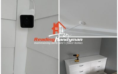 Hive camera installed in Green Park Village