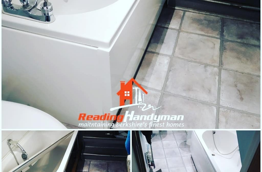 Cracked bath panel replaced for tenants in Reading