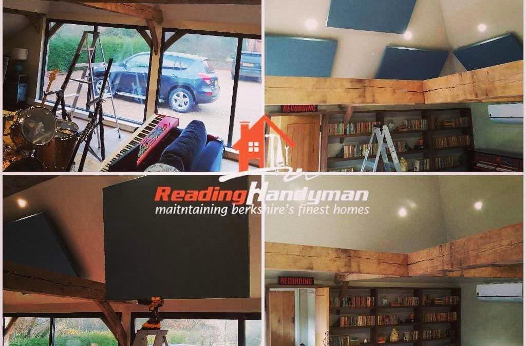 Sound deadening boards installation in Kidmore End