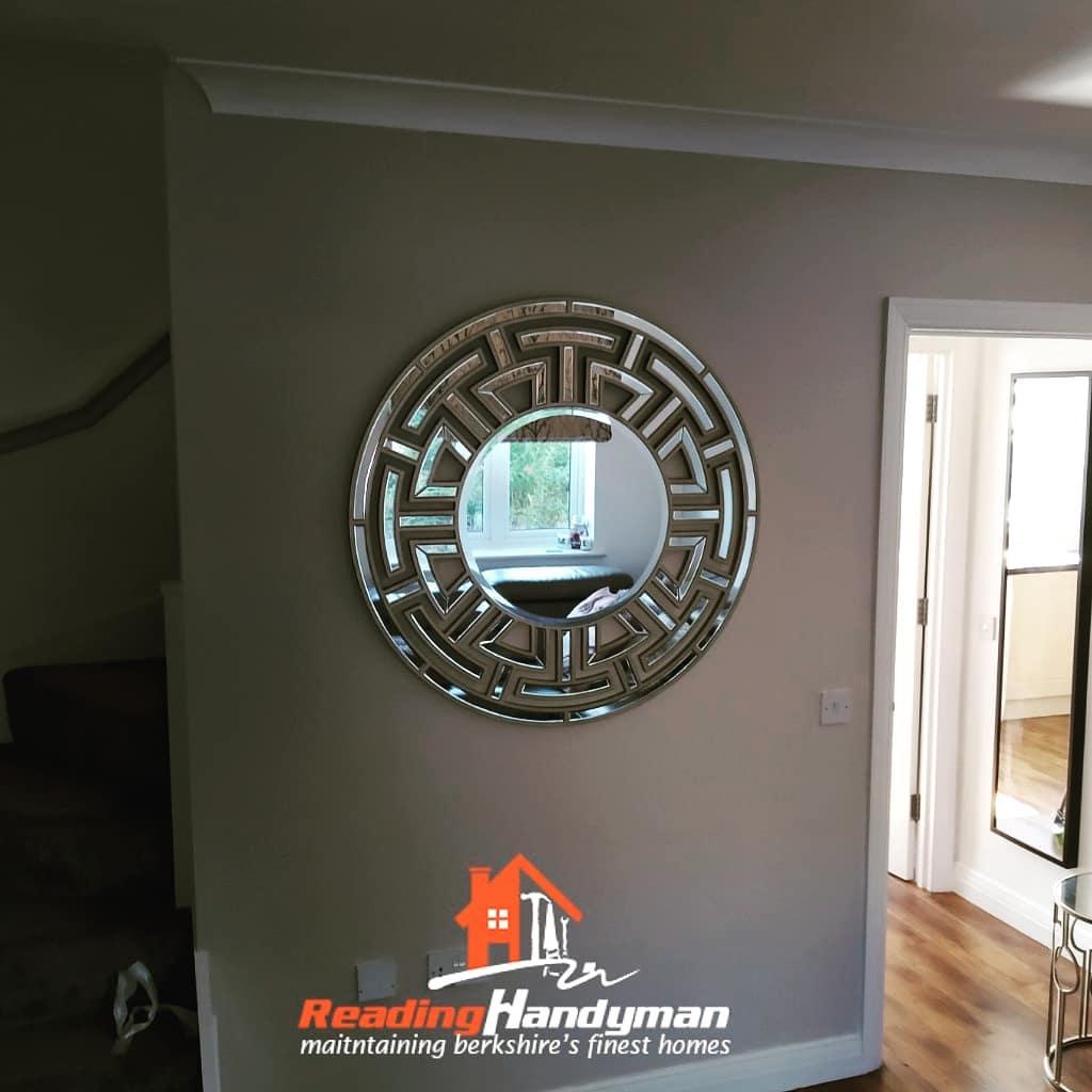 Beautiful Mirror Hanged in Wokingham
