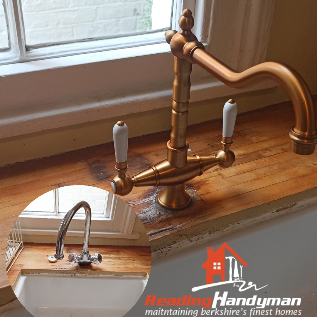 Kitchen Tap Replaced in Reading