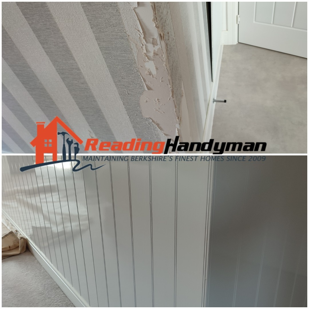 Wall panelling job in Shinfield