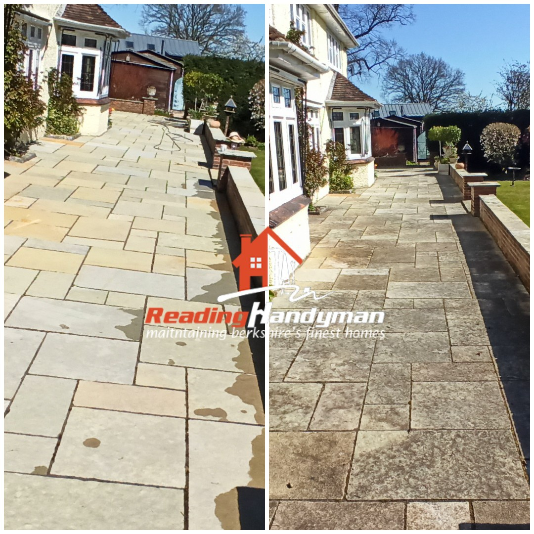 Patio Cleaning in Mortimer, Reading